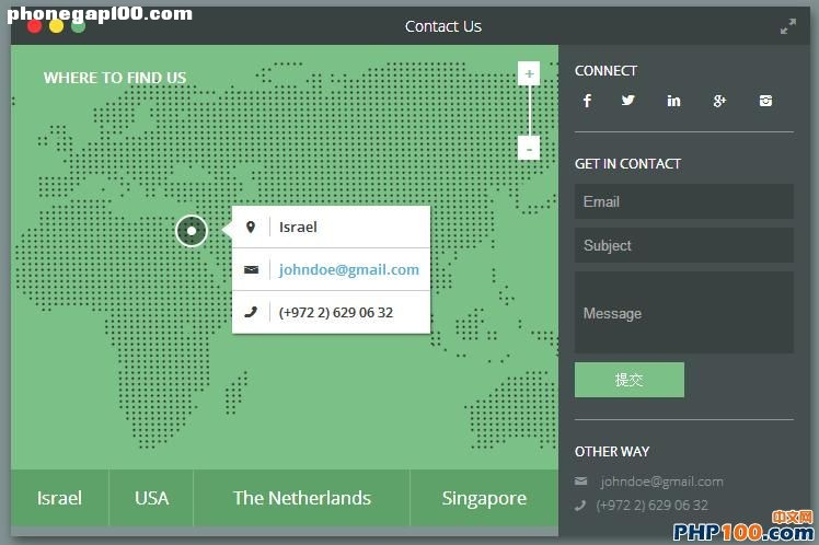 html5-css3-contact-form-map